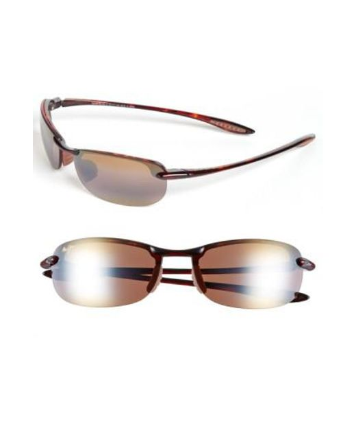 Maui Jim | Metallic 'makaha - Polarizedplus2' 63mm Sunglasses for Men | Lyst