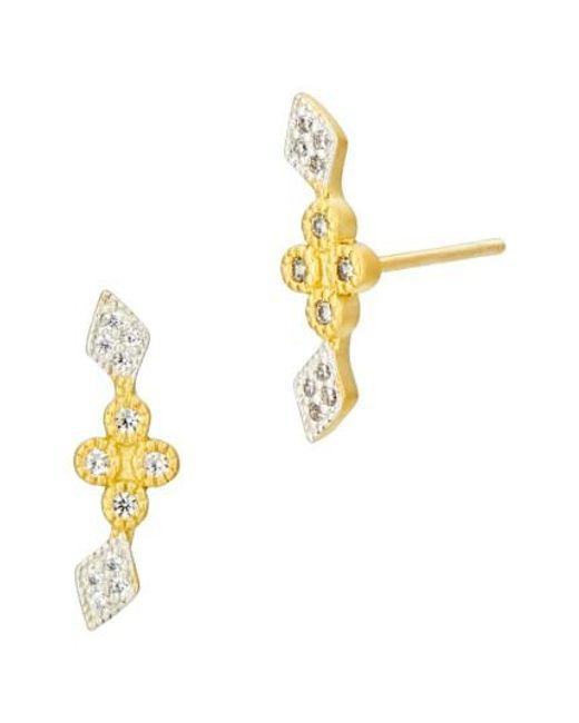 Freida Rothman - Metallic Visionary Fusion Stud Earrings - Lyst