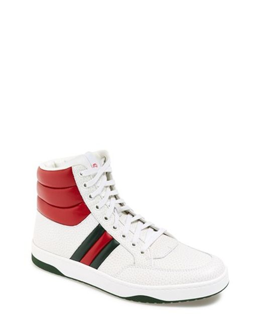 Gucci | Green Ronnie High Top Sneaker for Men | Lyst