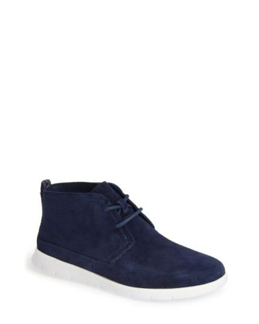 Ugg | Blue Ugg Freamon Suede Chukka Boot for Men | Lyst