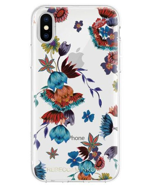 Rebecca Minkoff - Blue Punk Floral Iphone X/xs Case - Lyst