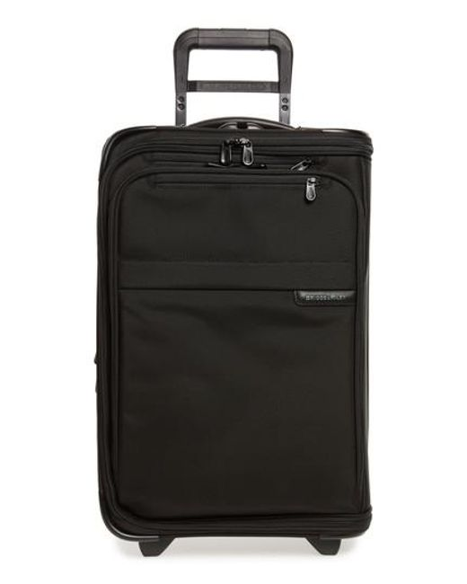 Briggs & Riley - Black 'baseline - Domestic' Rolling Carry-on Garment Bag for Men - Lyst