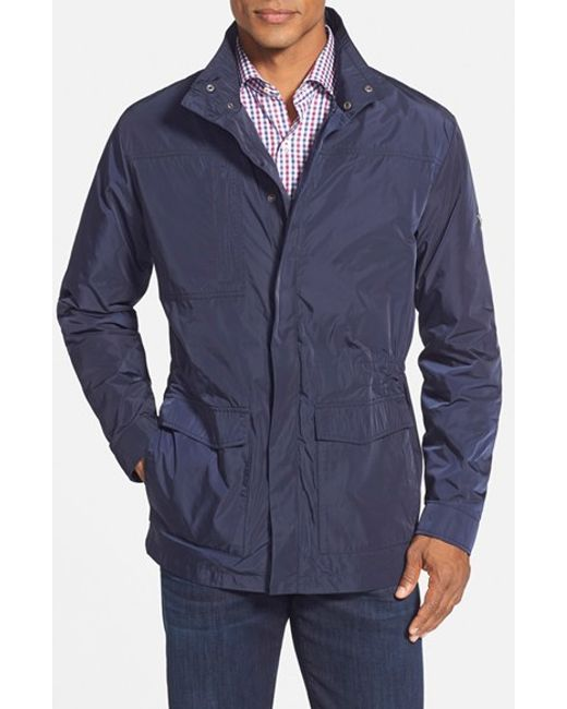 Cutter & Buck | Blue Birch Bay Water Resistant Jacket for Men | Lyst