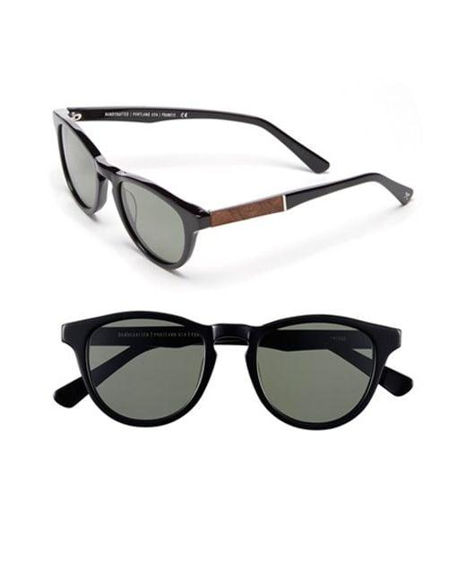 Shwood | Black 'francis' 49mm Polarized Sunglasses for Men | Lyst