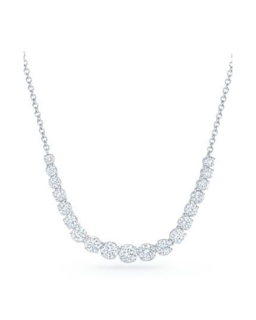 Kwiat - Metallic Riviera Diamond Pendant Necklace - Lyst