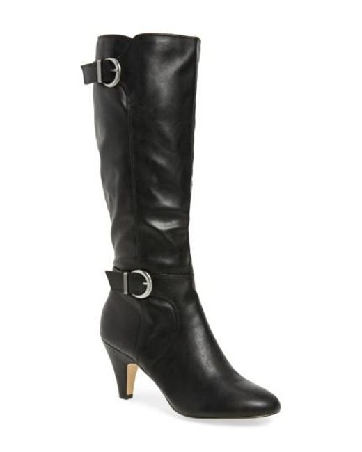 Bella Vita | Black Toni Ii Knee High Boot | Lyst