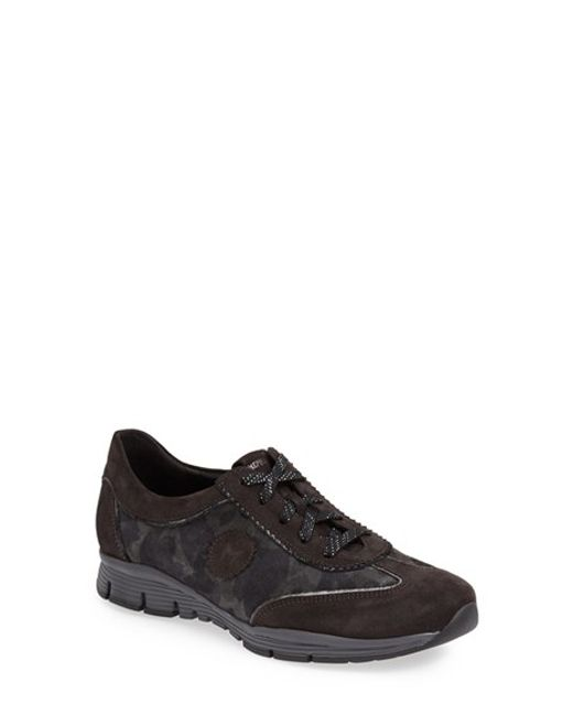 Mephisto | Gray 'yael' Soft-air Sneaker | Lyst