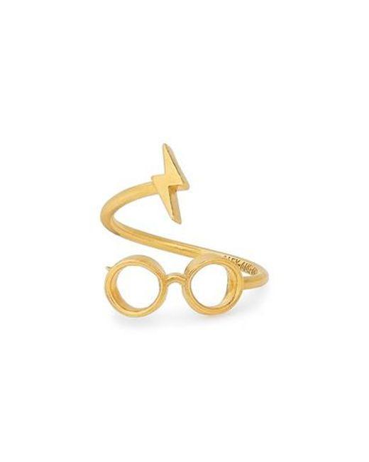 ALEX AND ANI | Metallic Harry Potter(tm) Glasses Wrap Ring | Lyst