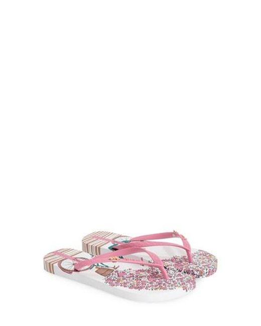 Ipanema | Pink 'bouquet' Flip Flop | Lyst