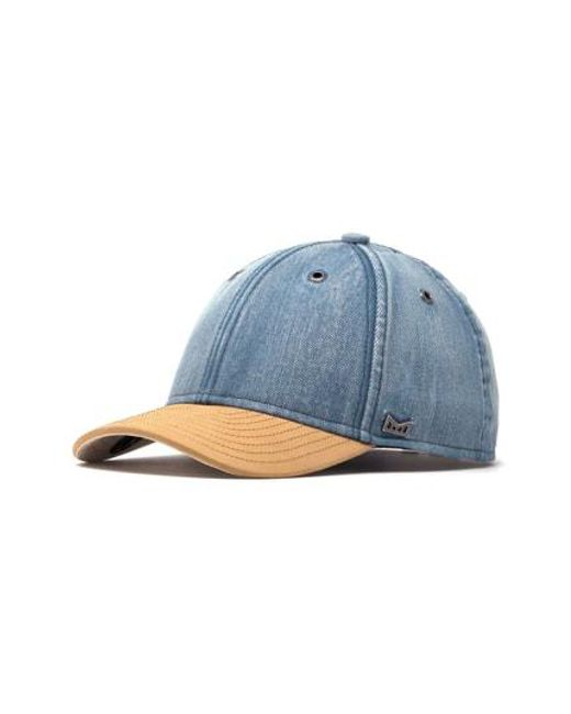 buy popular a0d77 732ad Melin - Blue Hesher Baseball Cap for Men - Lyst. View fullscreen