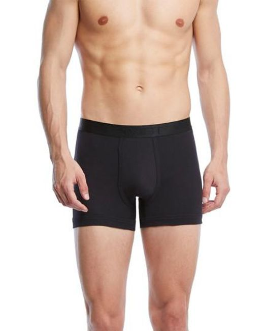 2xist | Black Pima Cotton Boxer Briefs for Men | Lyst