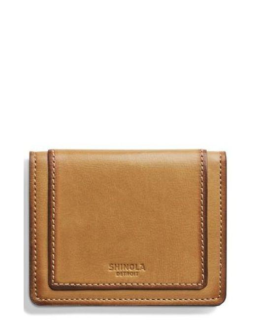 Shinola - Multicolor Outlaw Folding Card Case - Lyst