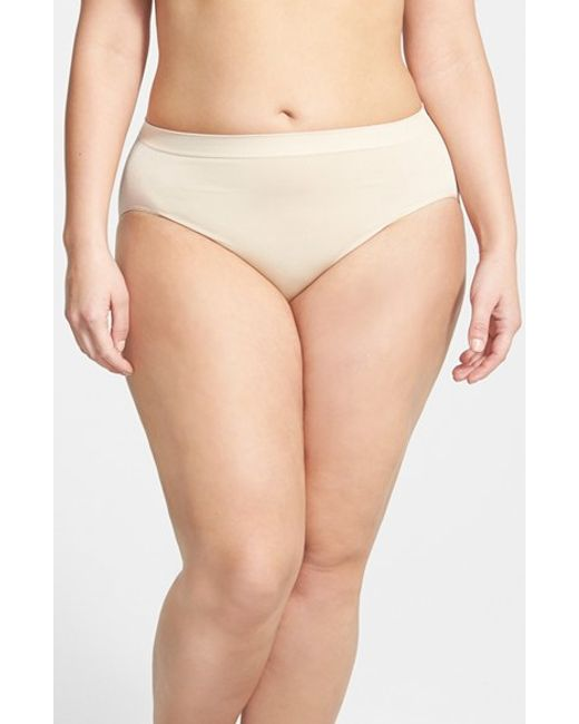 Wacoal | Natural Smooth High Cut Briefs | Lyst