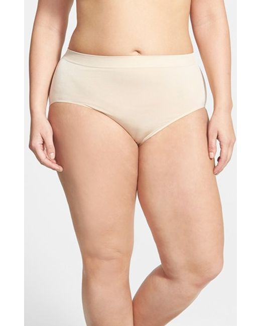 Wacoal | Natural B Smooth Briefs | Lyst