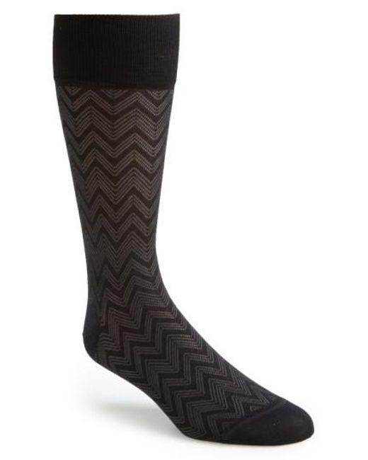 John W. Nordstrom   Black Socks 3 For 40 for Men   Lyst