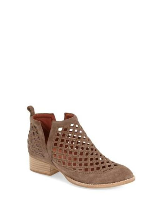 Jeffrey Campbell   Brown Taggart Suede Ankle Boots   Lyst
