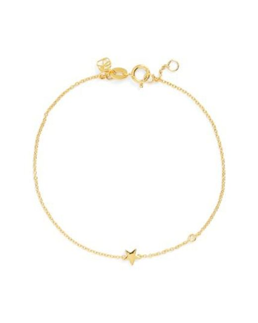 Shy By Sydney Evan | Metallic Star Bracelet | Lyst