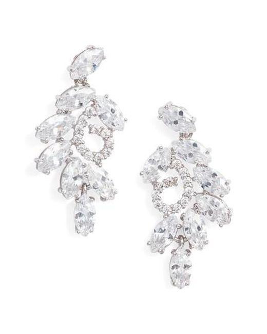Nina - Metallic Cluster Branch Stud Earrings - Lyst