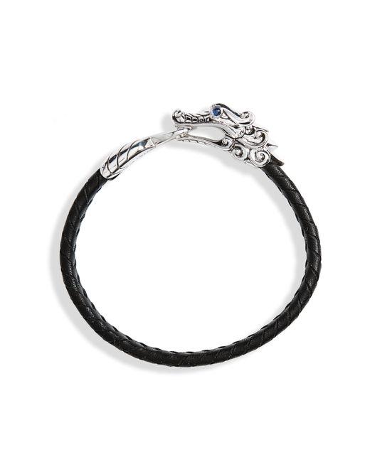 John Hardy - Black Legends Naga Bracelet for Men - Lyst