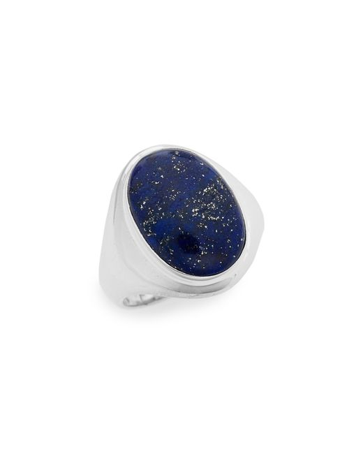 Shinola - Blue Semiprecious Stone Ring - Lyst