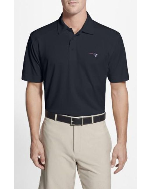 Cutter & Buck | Blue 'new England Patriots - Genre' Drytec Moisture Wicking Polo for Men | Lyst