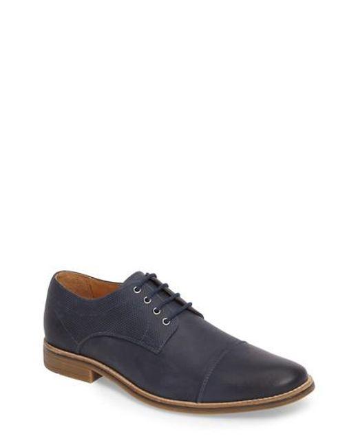 Nordstrom - Blue 1901 Goleta Cap Toe Derby for Men - Lyst