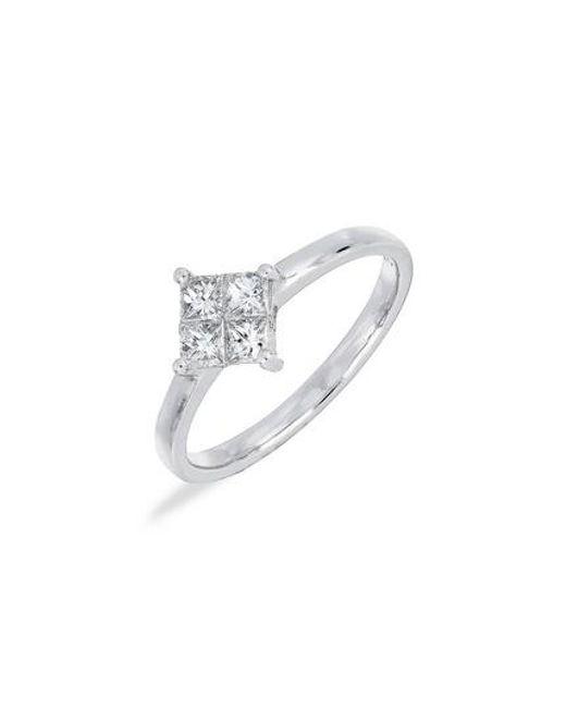 Bony Levy - Multicolor Princess Diamond Ring (nordstrom Exclusive) - Lyst