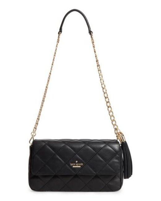 Kate Spade | Black Emerson Place - Serena Leather Shoulder Bag | Lyst