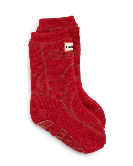 Hunter - Red Original Boot Slipper Socks for Men - Lyst