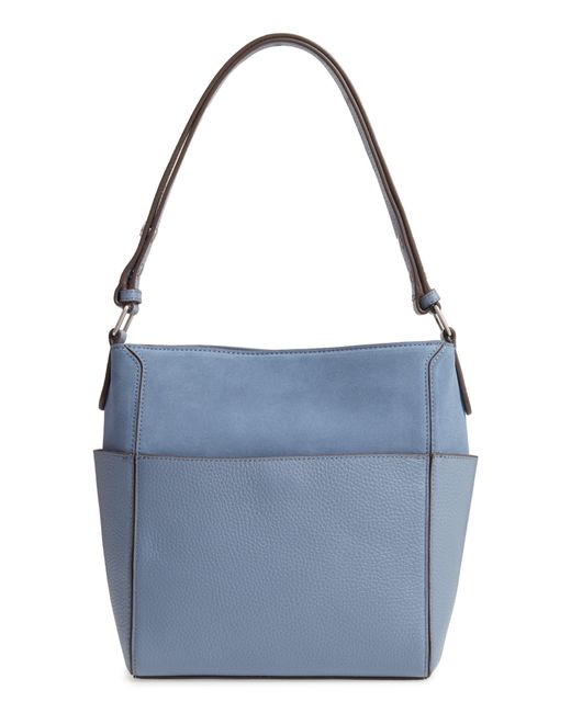 Treasure & Bond - Blue Campbell Leather & Suede Bucket Bag - Lyst