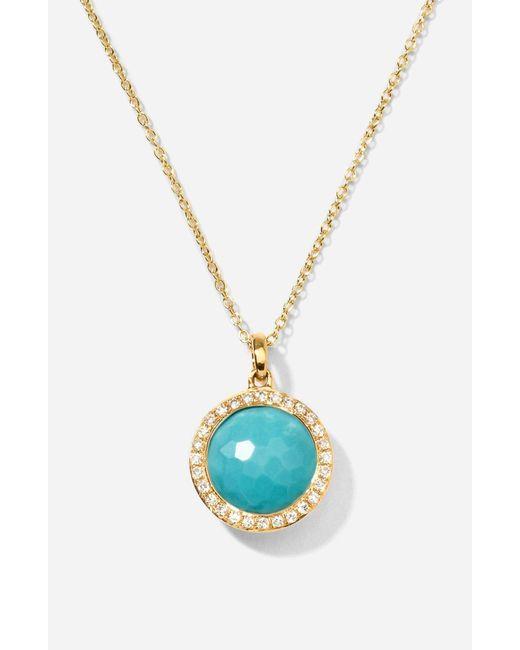 Ippolita - Multicolor 'rock Candy - Mini Lollipop' Pendant Necklace - Lyst