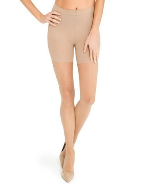 Spanx - Natural Spanx Luxe Leg Pantyhose - Lyst