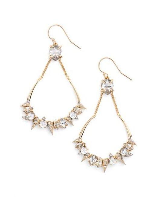 Alexis Bittar | Metallic Crystal Encrusted Mosaic Drop Earrings | Lyst