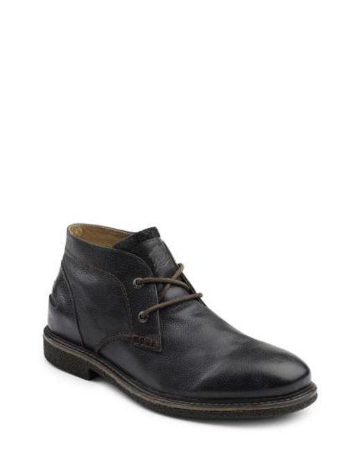G.H. Bass & Co.   Black 'bennett' Chukka Boot for Men   Lyst