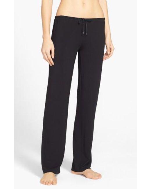 DKNY | Black 'city Essentials' Pants | Lyst