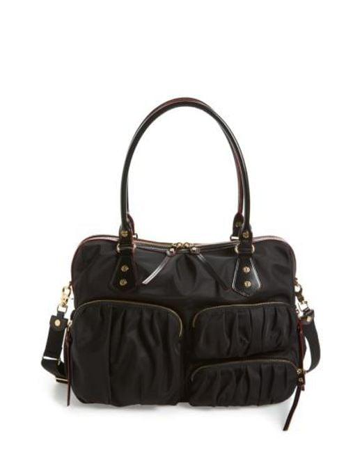 MZ Wallace | Black 'kate' Bedford Nylon Handbag | Lyst