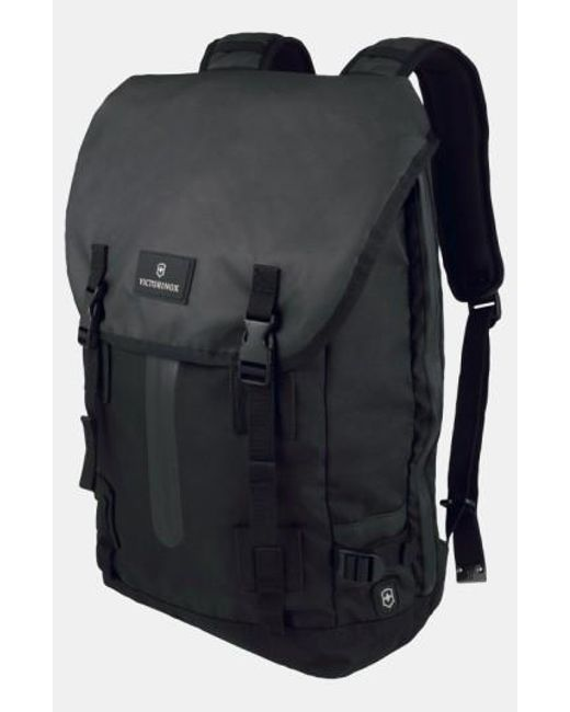 Victorinox | Black Victorinox Swiss Army Flapover Backpack for Men | Lyst