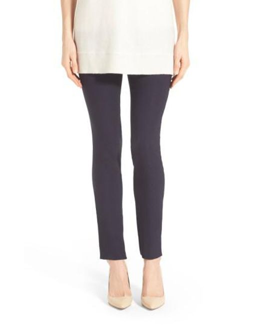 NIC+ZOE | Blue The Wonder Stretch Pants | Lyst
