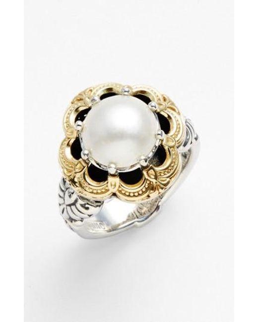 Konstantino   Metallic 'hermione' Semiprecious Stone Ring   Lyst