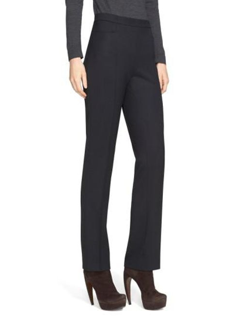 Akris Punto | Black 'francoise' Stretch Gabardine Pants | Lyst