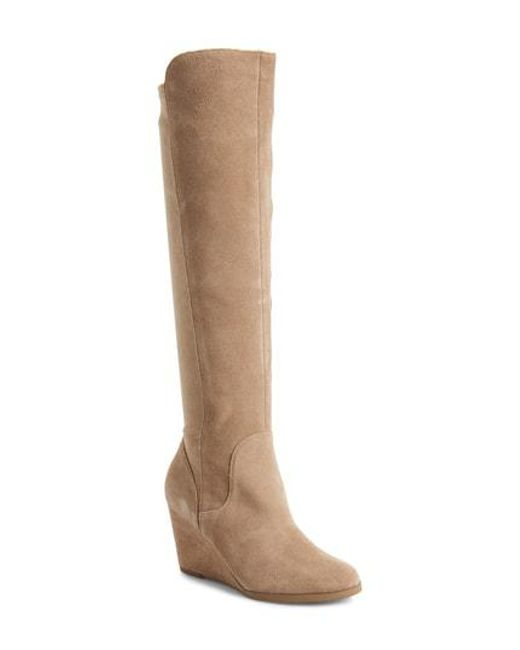 Sole Society - Brown Laila Boot - Lyst