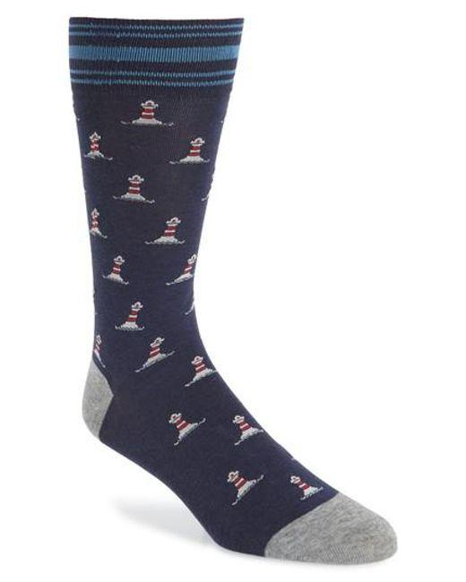 Cole Haan - Multicolor Stripe Socks for Men - Lyst