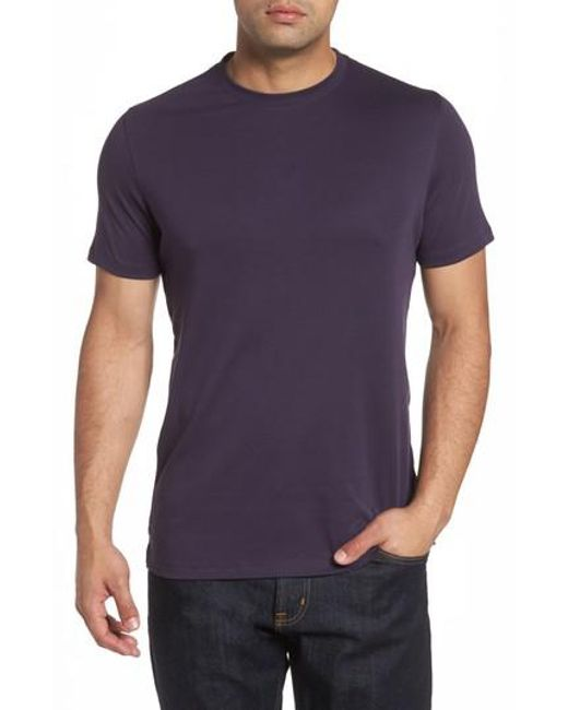 Robert Barakett   Blue 'georgia' Crewneck T-shirt for Men   Lyst