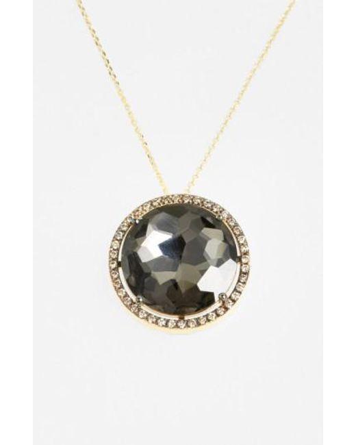 Suzanne Kalan | Yellow Diamond & Stone Pendant Necklace | Lyst
