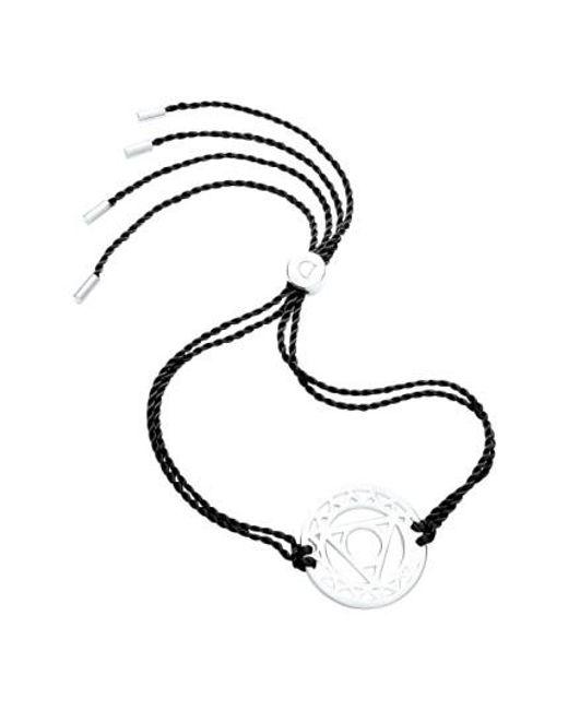 Daisy London | Metallic 'throat Chakra' Cord Bracelet | Lyst
