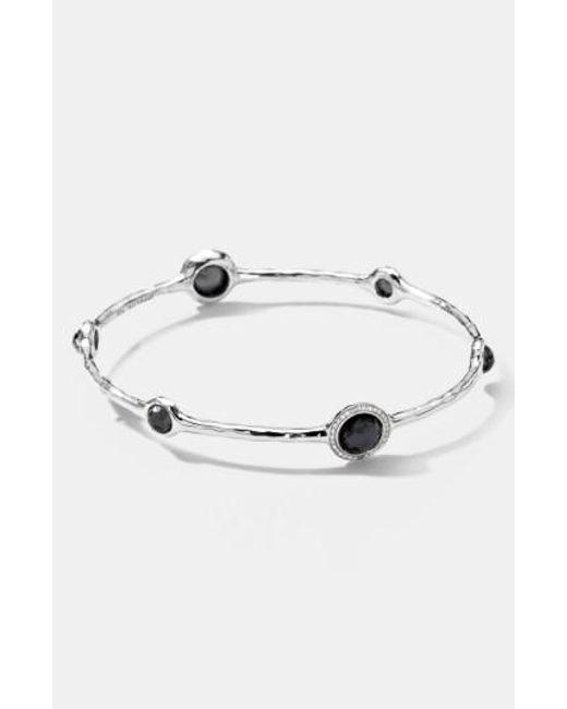 Ippolita | Gray Clear Quartz Motherofpearl Sterling Silver Earrings | Lyst