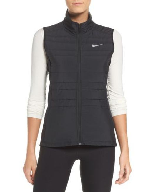 Nike | Black Essentials Running Vest | Lyst