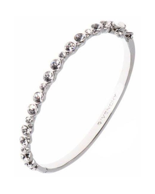 Givenchy | Metallic Small Crystal Bracelet | Lyst