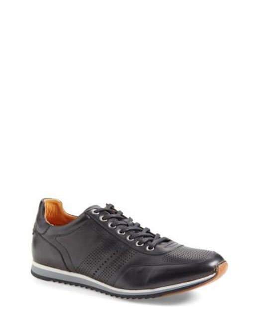 Magnanni Shoes - Black 'pueblo' Sneaker for Men - Lyst
