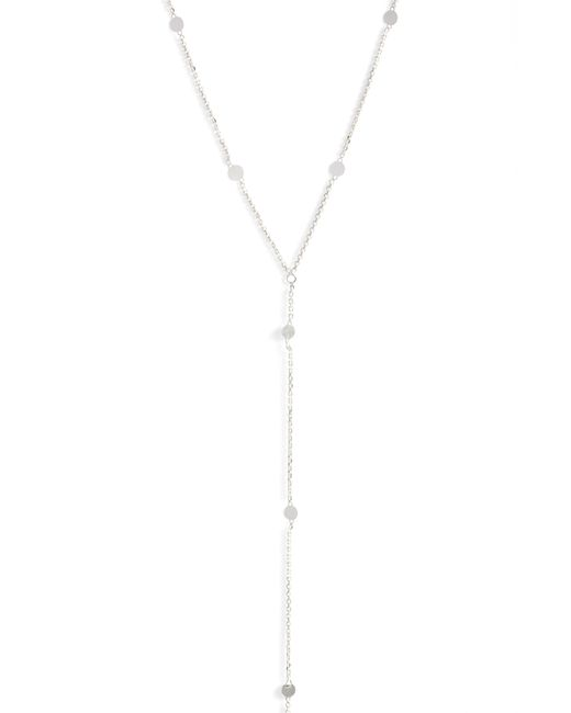 Argento Vivo - White Mirror Station Long Y-necklace - Lyst